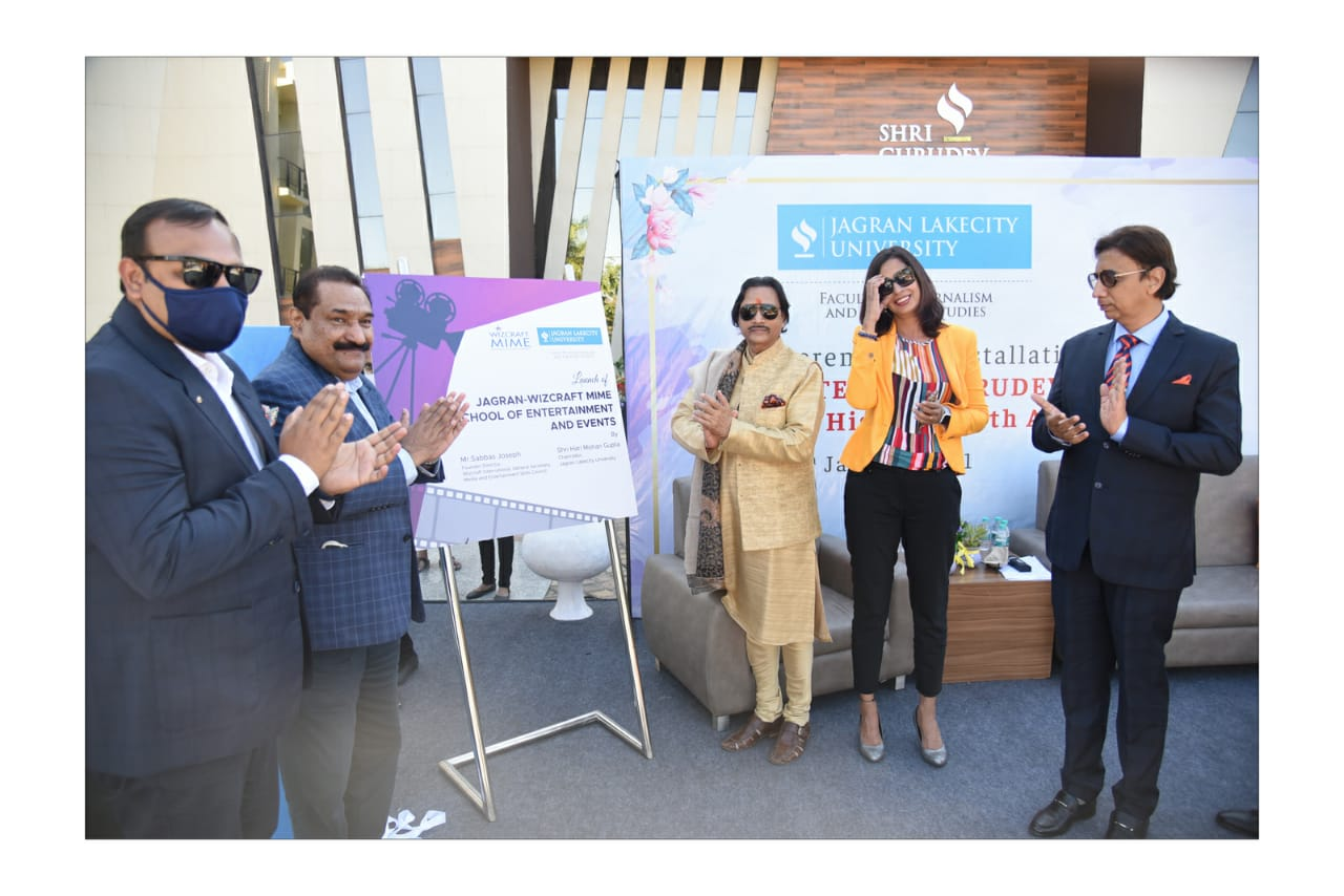 Jagran Lakecity University & Wizcraft partner to launch Jagran Wizcraft MIME School of Entertainment & Events, India's first integrated Entertainment